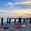 5月の浜辺 yogaと次回のご案内