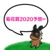 race22.競馬🐎菊花賞2020の予想