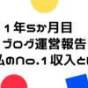 1年5か月目 はてなブログPro運営報告 私のNO.1アフィリこっそり教えます
