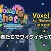 【Voxel Shot for Nintendo Switch】開発者たちがやってみた
