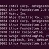 USB関連のLinuxコマンド