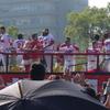 カープのパレードを見に行ってきた