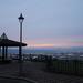 山形市、三本木線展望台からの夕景展望