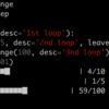 Pythonメモ : tqdmで処理の進捗(プログレスバー)を表示