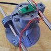 草刈りロボットを作りたいプロジェクト ①回転刃とスライド機構を作ってみる