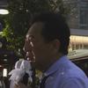 経堂駅北口:田中康夫街頭演説 2016年07月08日