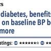 ACPJC:Therapeutics 糖尿病患者では血圧を下げる効果はベースラインの血圧が140mmHg以上の場合期待できる