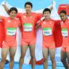 2016.08.20 男子4×100mリレー銀メダル!
