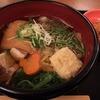 2016.1.7 豚肉と焼餅のきつね五目うどん膳