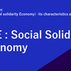 Intern report (1/4):SSE (Social solidarity Economy) –its characteristics and challenges
