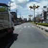 カンチャナブリーからバンコク・カオサンへ。ミニバスと路線バスを乗り継いだ