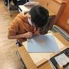 5年生:図工 木版画