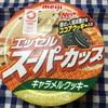 明治エッセルスーパーカップキャラメルクッキー【コンビニアイス・感想】