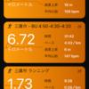 朝RUN ビルドアップ(微妙に失敗)
