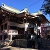 年の瀬の浅草 今戸神社