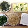 6月12日の食事記録~地味・質素系な食事だけど栄養バランス抜群
