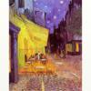 ゴッホ 「夜のカフェテラス」 名画で人間をコントロール