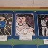 4年生:図工 版画完成掲示