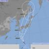 台風21号が接近・・・