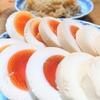 4月1~2日のちち飯、ちち弁、ははのゆで卵。