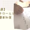 【2〜3歳】発泡スチロールと画鋲で簡単知育