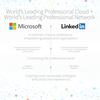 マイクロソフトが現金約2兆7000億円でLinkedInを買収