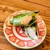 海老とクリームチーズの春巻き