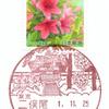 【風景印】二俣尾郵便局(2019.11.25押印、局名改称後・図案変更後・初日印)