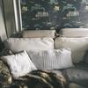 パリのソファ