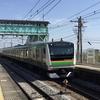 東海道線E231/E233系で行く伊豆の旅。根府川駅と宇佐美~伊東間で海と列車のコラボを楽しむ。