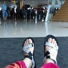 インドネシア旅行記 【移動編】 コモド島ツアーの拠点 フローレス島へ ングラライ国際空港にて 国内線のチェックイン~搭乗ゲートまでの流れ