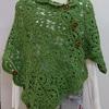 ブリューゲル編みのショールを編んてみる