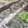庭の畑の土作り
