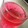 ゴーヤチャンプルーと紫蘇ジュース