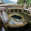 貝田新円筒分水槽(富山県魚津)