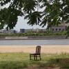 海を見ていた椅子