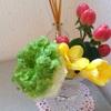寄せ集め的なお花たちに味のある生き方を見る