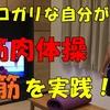 ヒョロガリが筋肉体操:腹筋編を実践してみた!