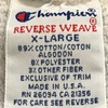 748 Champion reverse weave COLLEGE SWEAT 90's