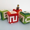 カラフルな4つのキューブ! レゴ:LEGO 40172 万年カレンダー
