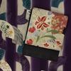<ロマデパ> 7/10~7/16大正ロマン百貨店in新宿伊勢丹 販売商品 百合と秋草の丸帯 縞に花の訪問着