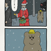 悲熊「サンタクロース」