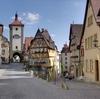 数々のアニメのモチーフとなっているドイツの古都 ローテンブルク