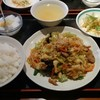 方南町【好来屋】日替りランチセット¥700+大盛 ¥100