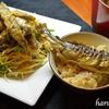 減塩、鮎の炊き込みご飯とワカサギのピリ辛サラダ♫