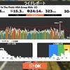 【ロードバイク】Zwiftトレーニング57日目_ベーストレ&Zwiftレース_20200817