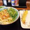 夕飯は丸亀製麺