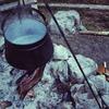 これまた簡単♬♬焚き火調理用の鍋釣りワイヤーを自作してみた!!