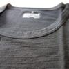【無印良品】「洗えるウール クルーネック半袖シャツ」を着てみました。