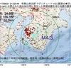 2017年09月21日 01時02分 和歌山県北部でM4.3の地震